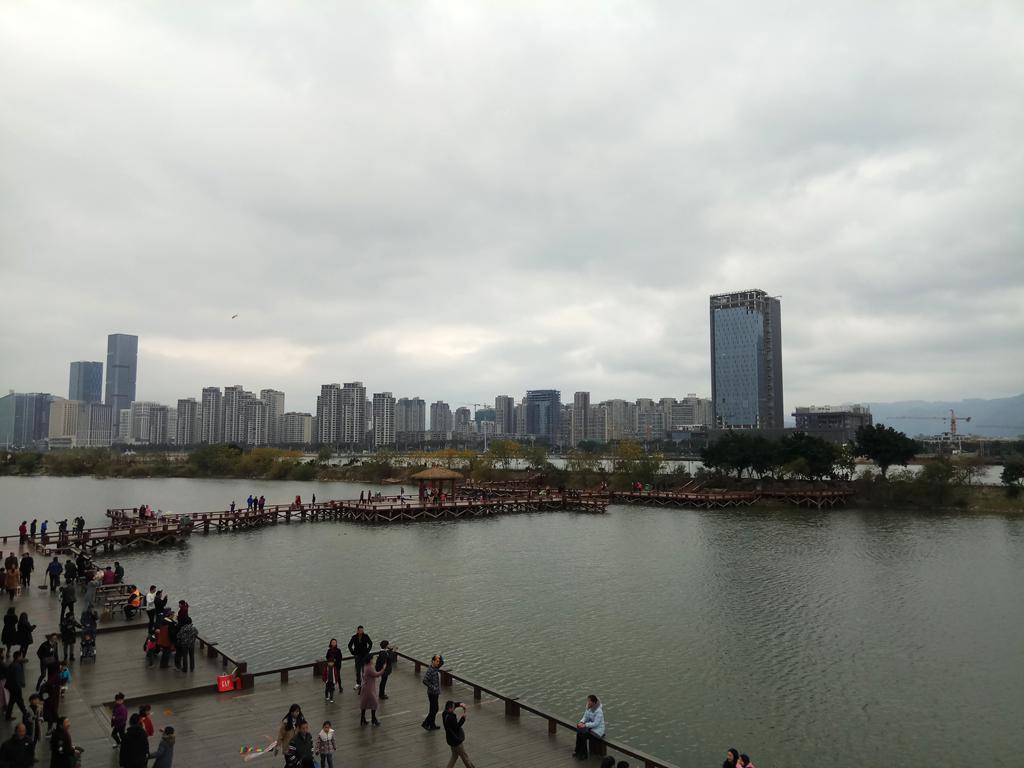 闲逛福州花海公园